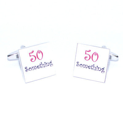 50 Something Cufflinks