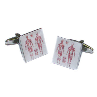 Medical Chart Doctors Cufflinks