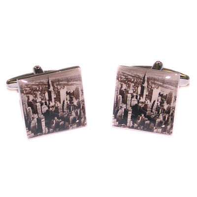 New York Cityscape Cufflinks