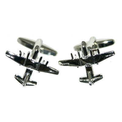 Hercules Transport Aircraft Cufflinks