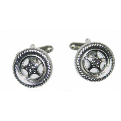 Alloy Wheel Cufflinks