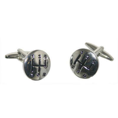 Gear Shift Cufflinks (Matt Finish)
