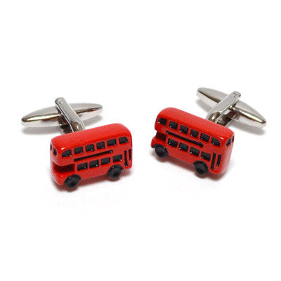 Red Bus Cufflinks