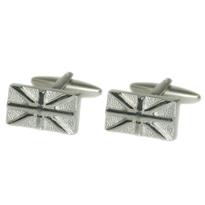 Union Jack Relief Cufflinks
