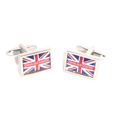 Queen & Country Union Jack Cufflinks
