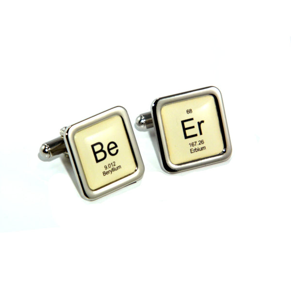 Beer Periodic Table Design Beer Cufflinks