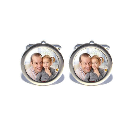 personalised custom photo cufflinks design your own