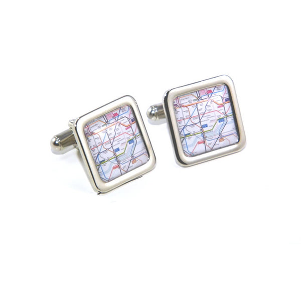 London Underground Map Cufflinks