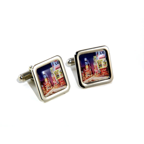 New York Cityscape Skyline Cufflinks
