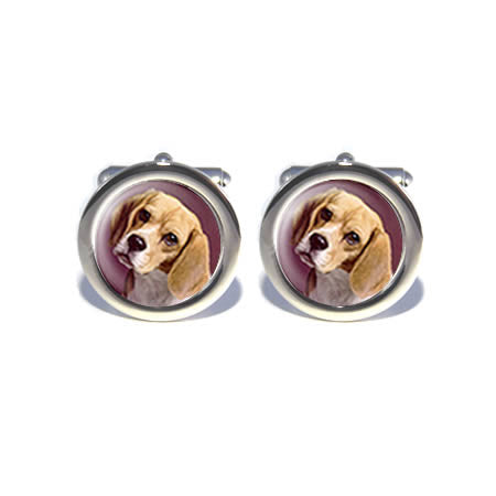 personalised pet photo cat dog cufflinks design your own
