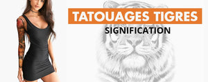 Tatouages Tigre Significations