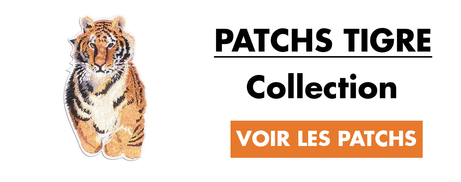 Patchs Tigre