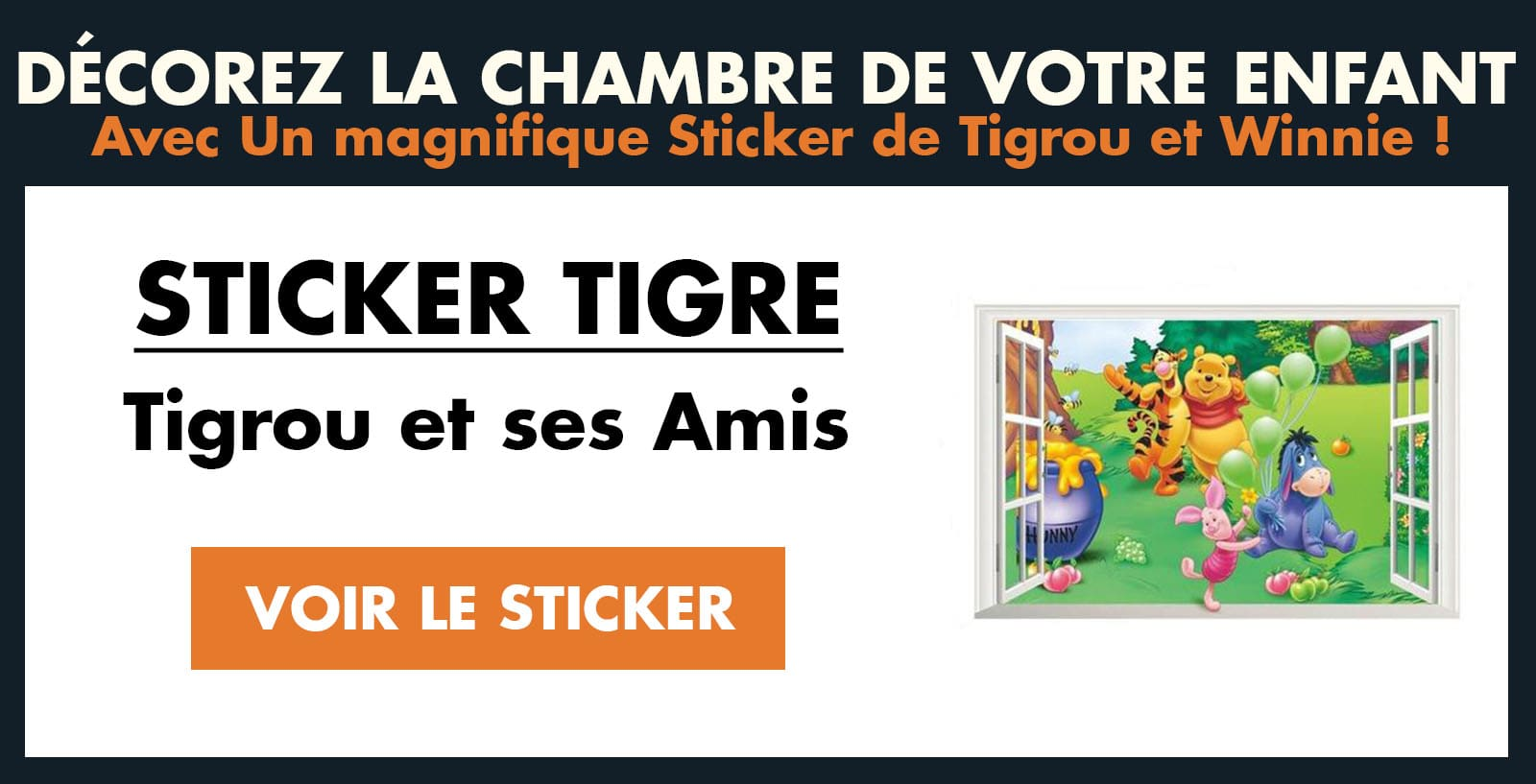 Sticker Tigrou