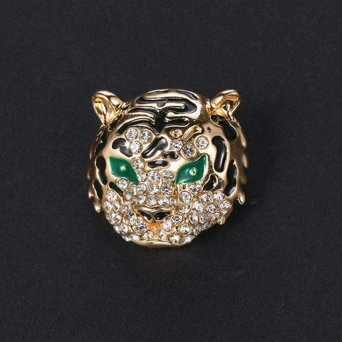 Broche Tigre Fourbe