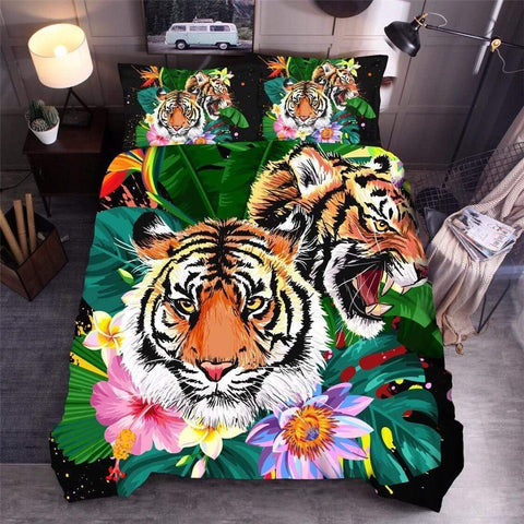 Housse de Couette Jungle