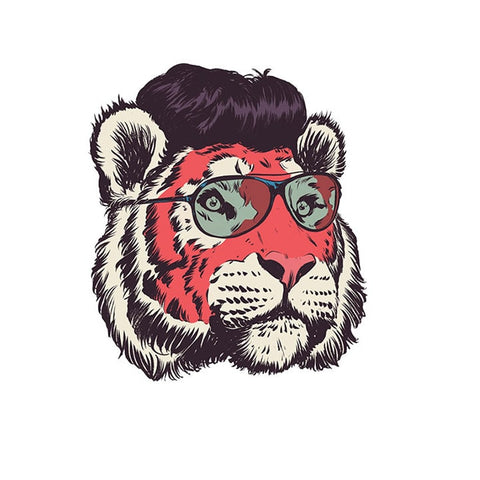 Patch Tigre Hipster