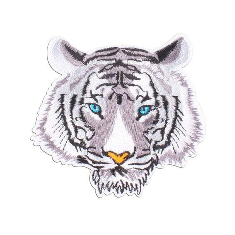 Patch Tigre <br/> Blanc