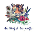 Stickers King of the Jungle