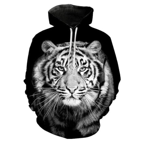 Sweat Tigre Blanc