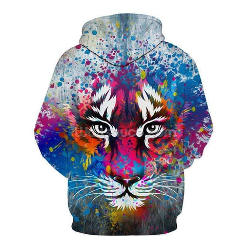 Sweat Tigre Coloré