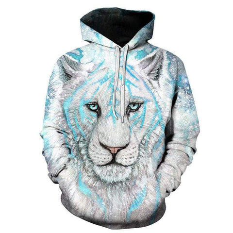 Sweat à Capuche Tigre