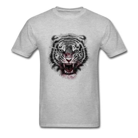 T-Shirt Tigre Agressif