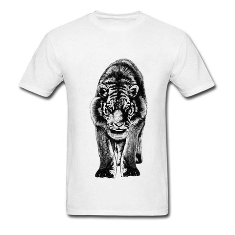 T-Shirt design de l'Animal Tigre