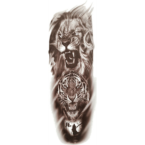 Tatouage de la Savane
