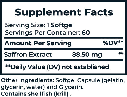 Slim Pure Supplement facts