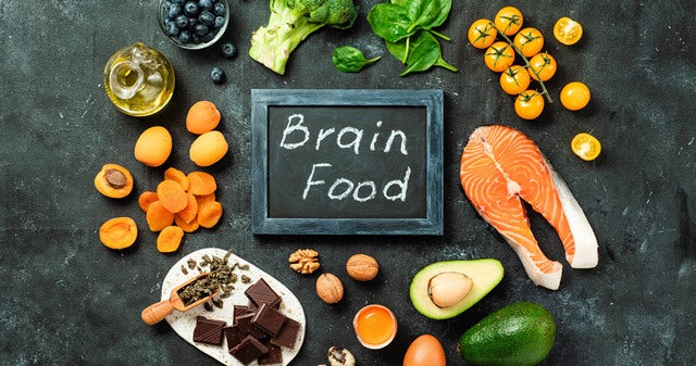 various foods that are good for the brain