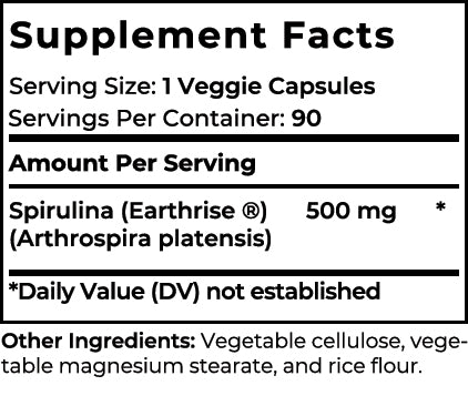 Up-n-Go Supplement facts