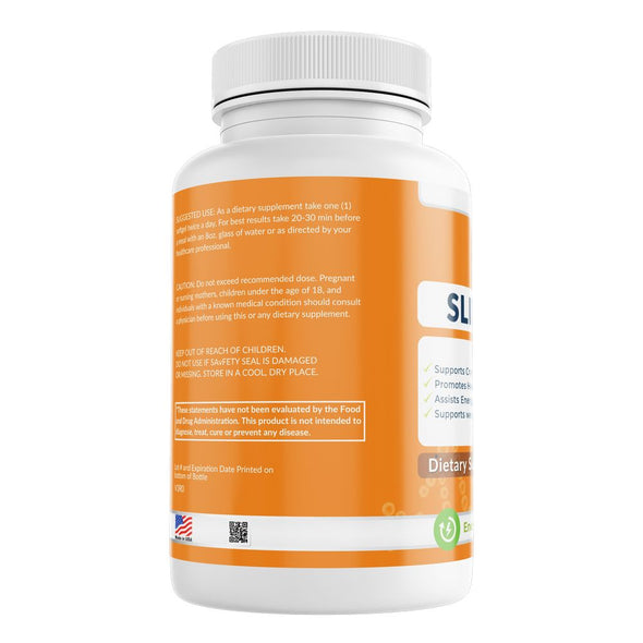 Slim Pure supplement weight loss muscle strength physical performance