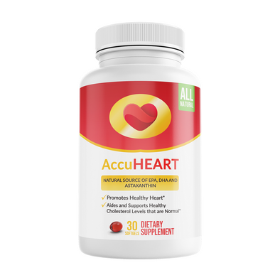 AccuHeart Supplements: Heart health, Atherosclerosis suppressor