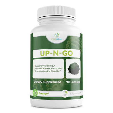 Up-n-go supplement pure spirulina stress relief