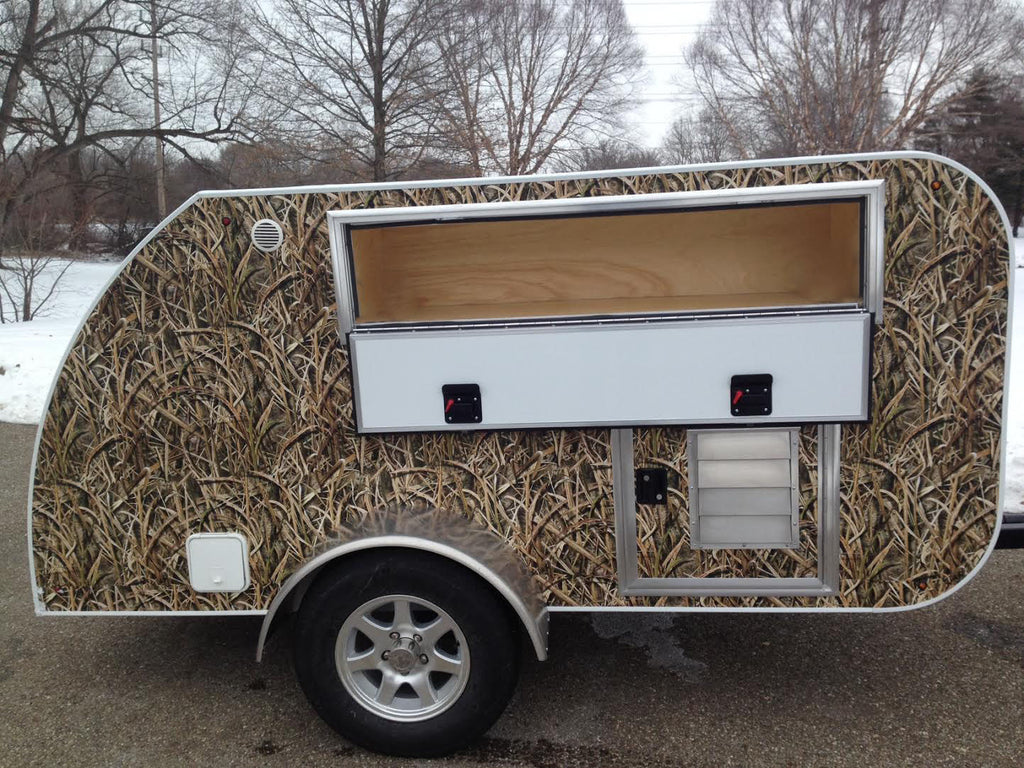 Premier Dog Trailer Basic Package 2 Dog Hunting Trailer