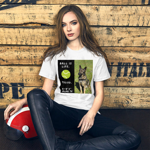 Short-Sleeve Unisex Tennis T-Shirt