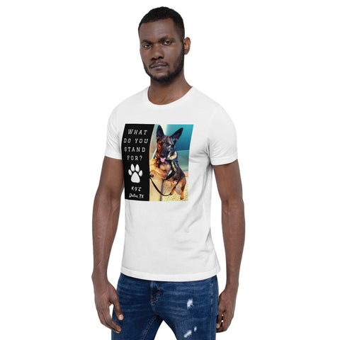 Short-Sleeve Unisex Stand For Animals T-Shirt