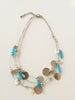 FIESTA Tropical Blue Sea Glass Necklace