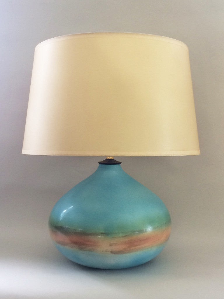 BEACH HOUSE LAMP - PARCHMENT SHADE