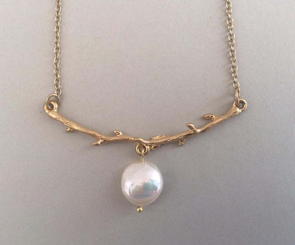 Pearl Branch Necklace-SOLD OUT