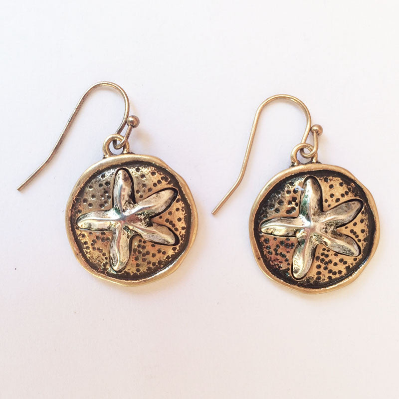 Rustica Starfish Earrings - NEW