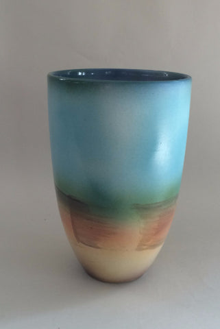 Sunrise Pottery Vase