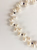 FRESHWATER PEARL & CRYSTAL NECKLACE