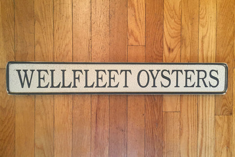 WELLFLEET OYSTERS SIGN