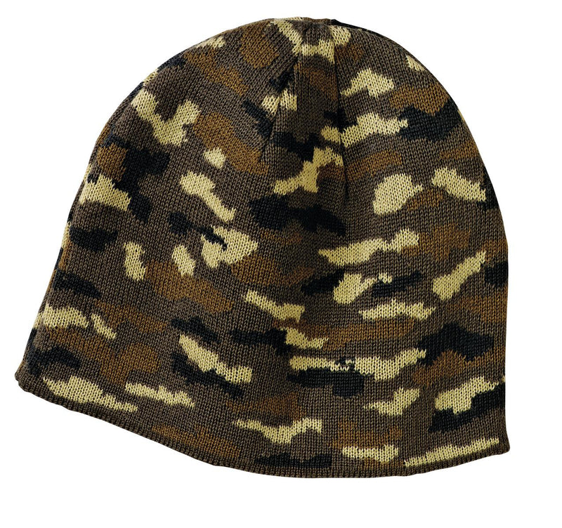Red White & Blue Outfitters Camo Beanie Cap