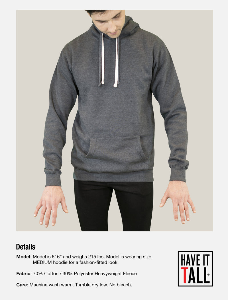 Have It Tall Pullover Hoodie