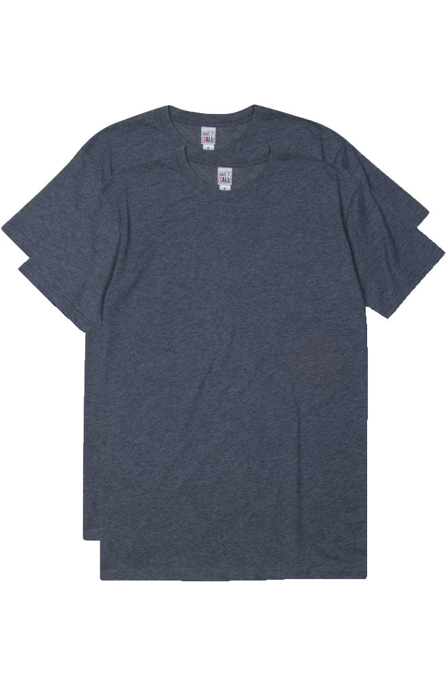 Have It Tall Soft Blend Fitted T Shirt  2 Pack