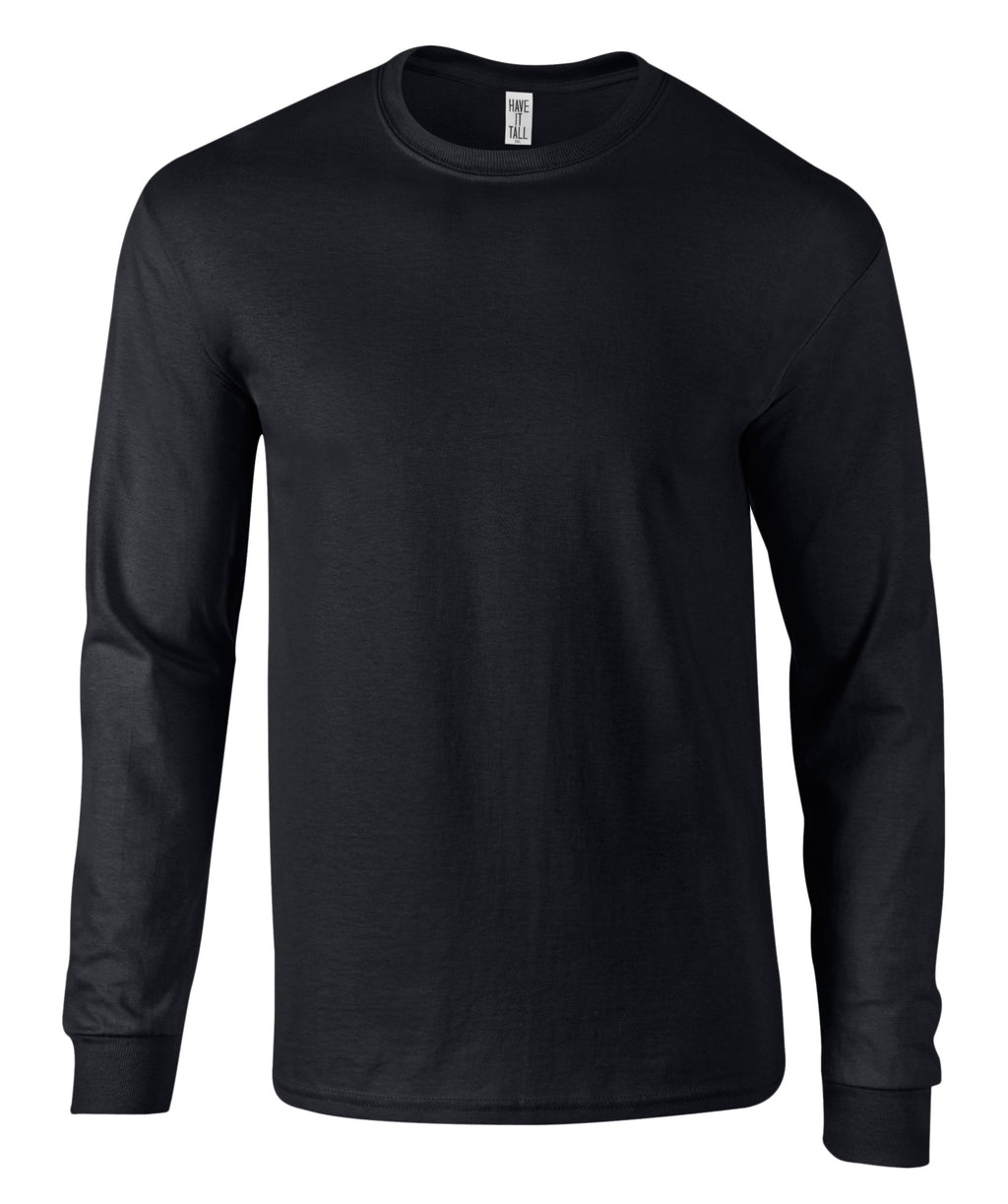 Have It Tall Premium Cotton Long Sleeve T Shirt