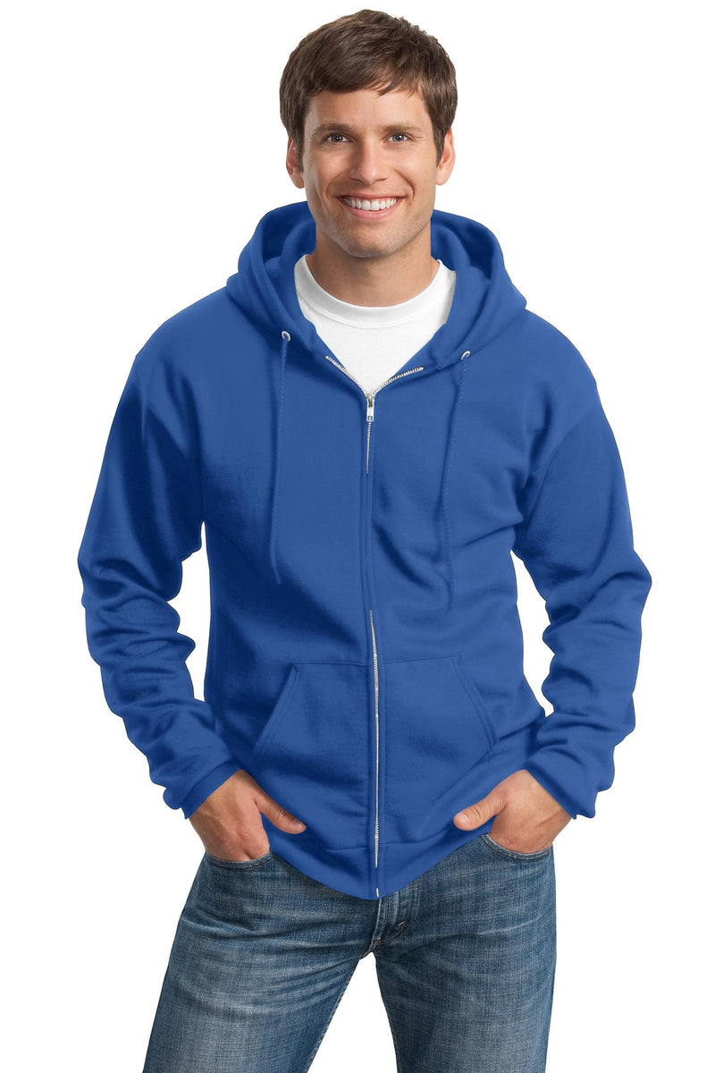 Red White & Blue Outfitters Basics - Tall Full-Zip Hooded Sweatshirt