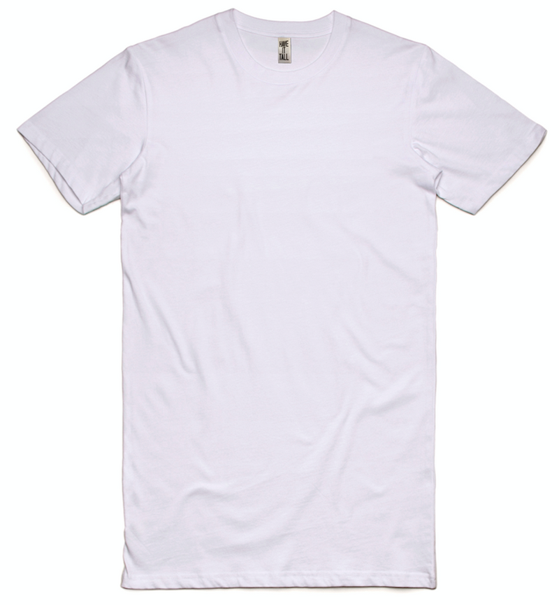 Have It Tall Extra Long Mid Weight Cotton T Shirt